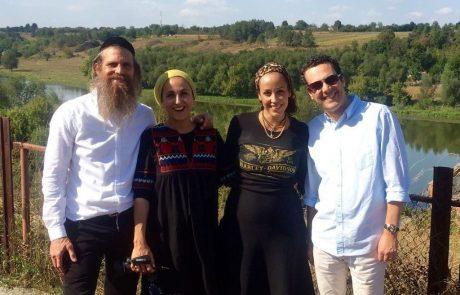 רגעים מיוחדים מהנסיעה לערש החסידות עם עדן הראל עודד מנשה, ורוני ונורית אילון הירש | ספטמבר 2016